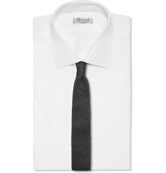Tom Ford Knitted Wool and Silk-Blend Tie