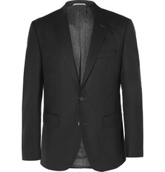 Hugo Boss Slim-Fit Virgin Wool-Piqué Blazer