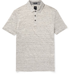 Hugo Boss Slim-Fit Linen-Jersey Polo Shirt