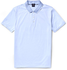 Hugo Boss Slim-Fit Mercerised Cotton Polo Shirt