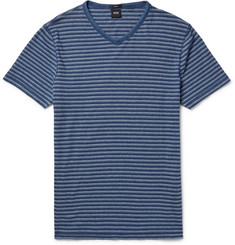 Hugo Boss Slim-Fit Striped Cotton-Jersey T-Shirt