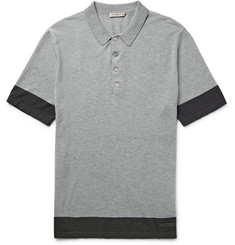 Burberry - Brit Slim-Fit Knitted Cotton Polo Shirt