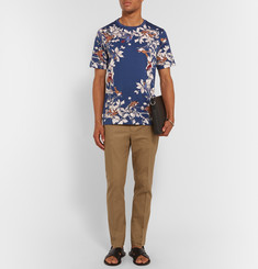 Dolce & Gabbana Slim-Fit Printed Cotton T-Shirt