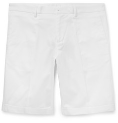 Dolce & Gabbana Slim-Fit Stretch-Cotton Twill Shorts