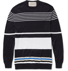 Casely-Hayford - Harold Striped Cotton Sweater