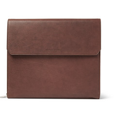 Brunello Cucinelli Full-Grain Leather Portfolio