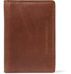 Brunello Cucinelli - Bifold Textured-Leather Cardholder