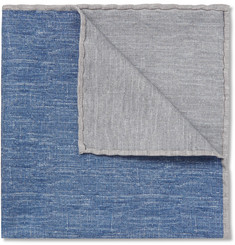 Brunello Cucinelli Silk and Cotton-Blend Pocket Square
