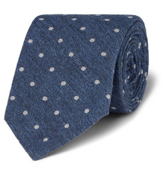 Brunello Cucinelli Polka-Dot Cotton Tie