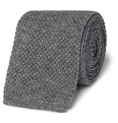 Brunello Cucinelli - Reversible Knitted Cotton Tie