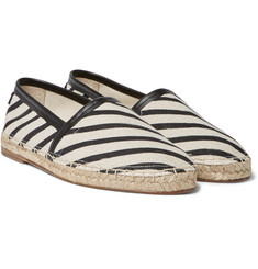 Dolce & Gabbana - Striped Canvas Espadrilles