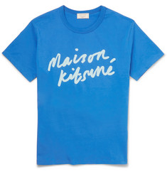 Maison Kitsuné Slim-Fit Printed Cotton T-Shirt