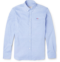 Maison Kitsuné - Slim-Fit Button-Down Collar Cotton Oxford Shirt