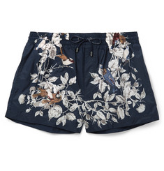Dolce & Gabbana - Short-Length Printed Swim Shorts