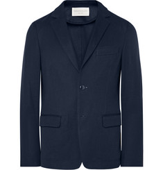 Tomorrowland Unstructured Knitted Cotton Blazer