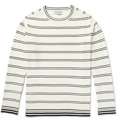 Tomorrowland Striped Knitted Sweater