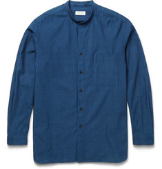 Tomorrowland - Supima Cotton Grandad-Collar Shirt