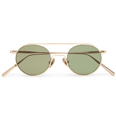 Acne Studios Metal Aviator-Style Sunglasses