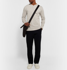 Bottega Veneta Cotton-Jersey Henley T-Shirt