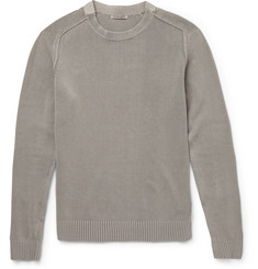 Bottega Veneta Slim-Fit Stretch-Cotton Sweater