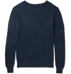 Bottega Veneta Slim-Fit Ribbed Linen and Wool-Blend Sweater