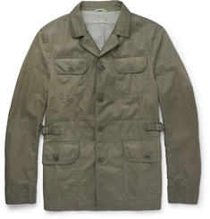 Bottega Veneta - Slim-Fit Garment-Dyed Cotton Field Jacket