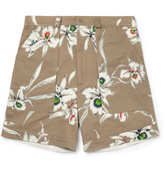 Valentino - Printed Cotton Shorts