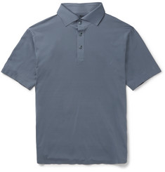 Descente - S.I.O. Slim-Fit Stretch-Jersey Polo Shirt