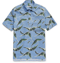 Valentino Slim-Fit Printed Cotton Shirt