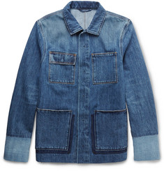 Valentino Patchwork Denim Overshirt