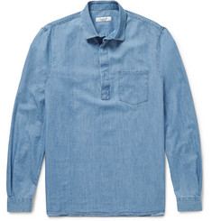 Valentino Washed-Denim Shirt