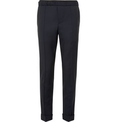 Valentino - Slim-Fit Wool and Mohair-Blend Trousers