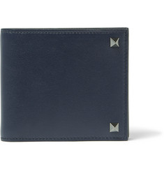 Valentino - Rockstud Leather Billfold Wallet