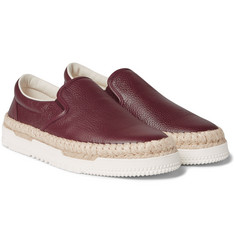 Valentino - Leather Espadrilles