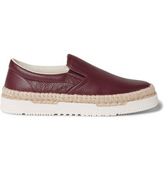 Valentino Leather Espadrilles