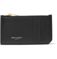 Saint Laurent Zipped Leather Cardholder