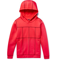 Christopher Kane - Panelled Scuba-Jersey Hoodie