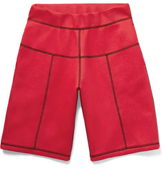 Christopher Kane - Panelled Scuba-Jersey Shorts