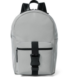 Christopher Kane Buckled Shell Backpack