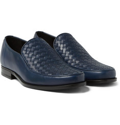 Bottega Veneta - Intrecciato Leather Loafers