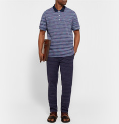 Missoni - Space-Dyed Cotton-Piqué Polo Shirt