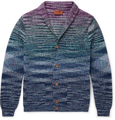 Missoni - Slim-Fit Cotton and Linen-Blend Cardigan
