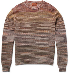 Missoni - Crochet-Knit Cotton and Linen-Blend Sweater