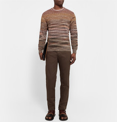 Missoni Crochet-Knit Cotton and Linen-Blend Sweater