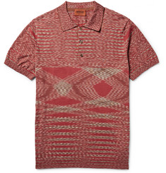 Missoni Slim-Fit Knitted Cotton Polo Shirt