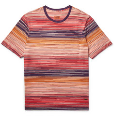 Missoni - Patterned Knitted Cotton T-Shirt