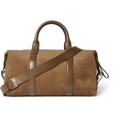 Tom Ford - Leather-Trimmed Suede Holdall