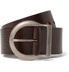 Tom Ford - 5cm Brown Leather Belt