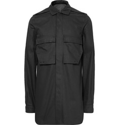 Rick Owens Cotton-Canvas Shirt Jacket