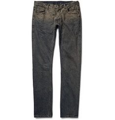 Rick Owens Detroit Skinny-Fit Distressed Denim Jeans